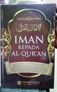 Buku Iman Kepada Al Quran - Muhammad Ash Shallabi - Ummul Qura