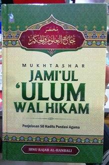 Katalog Penerbit ZamZam Terbaru Download disini - Mukhtashar Jamiul Ulum Wal Hikam - Ibnu Rajab Al Hanbali - Penerbit ZamZam