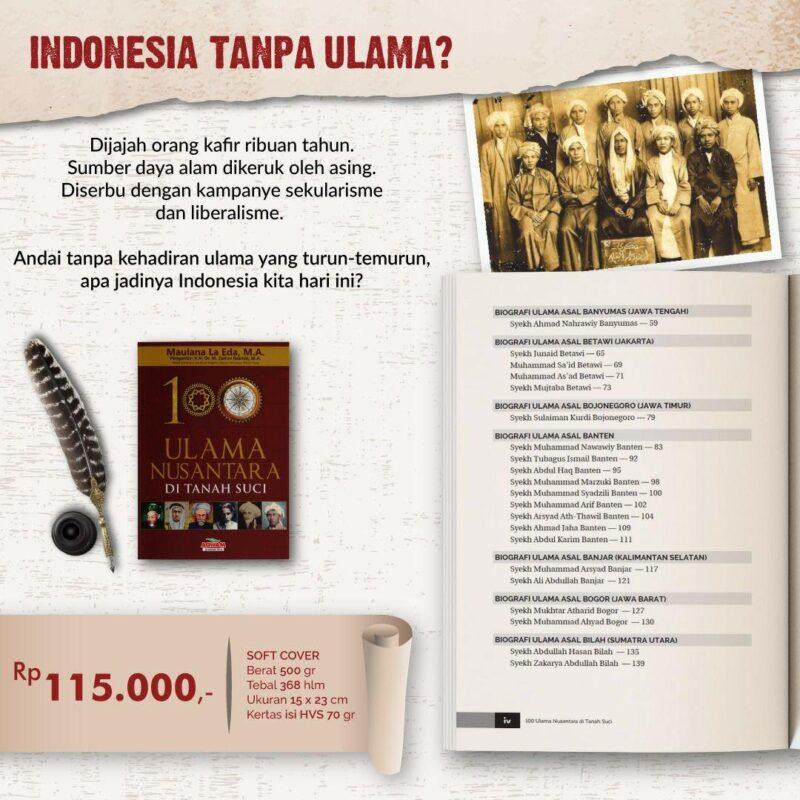 Biografi Ulama Indonesia di Mekah Mukarromah Tanah Suci Penerbit Aqwam