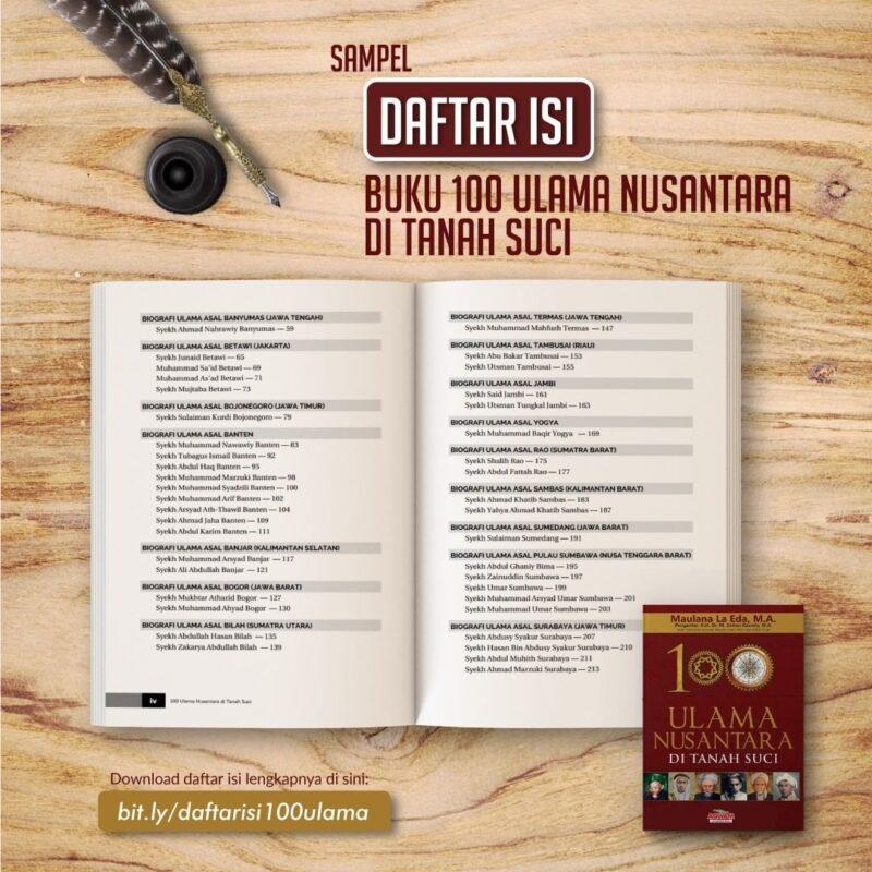 Download buku 100 Ulama Nusantara di Tanah Suci pdf