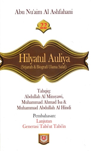 Download buku hilyatul auliya arab Jilid 22