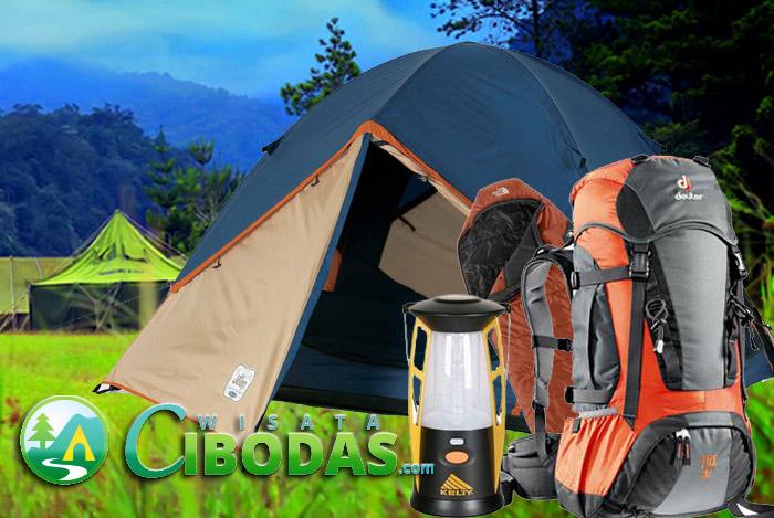 Sewa/Rental Peralatan Camping Cibodas