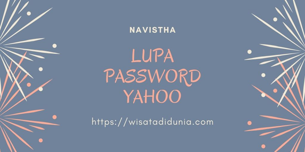 lupa password yahoo