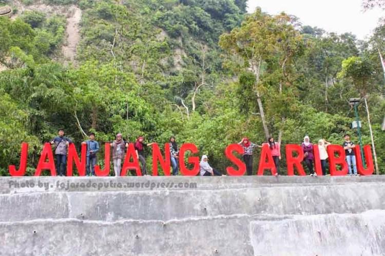 objek-wisata-janjang-saribu-bukittinggi-sumatera-barat