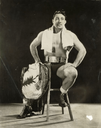 Jackie Nichols, famous Maine wrestler and one time owner of the Bloody Bucket.