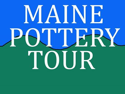 Logo for Maine Pottery Tour