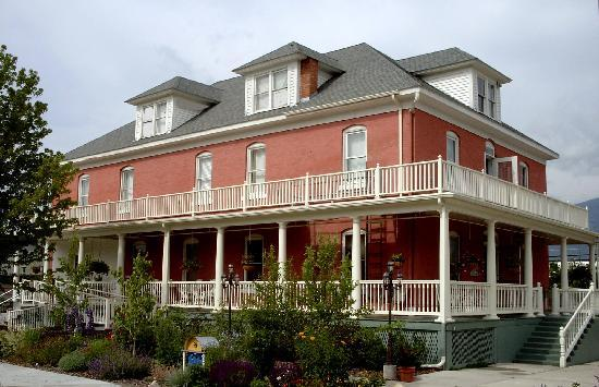 A three story brick hotel we tried to buy in Montana.