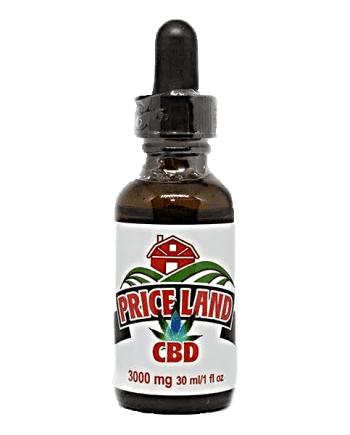 cbd oil 3000mg single bottle from priceland hemp