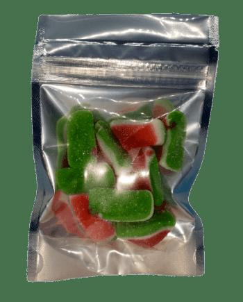 delta 8 watermelon slices