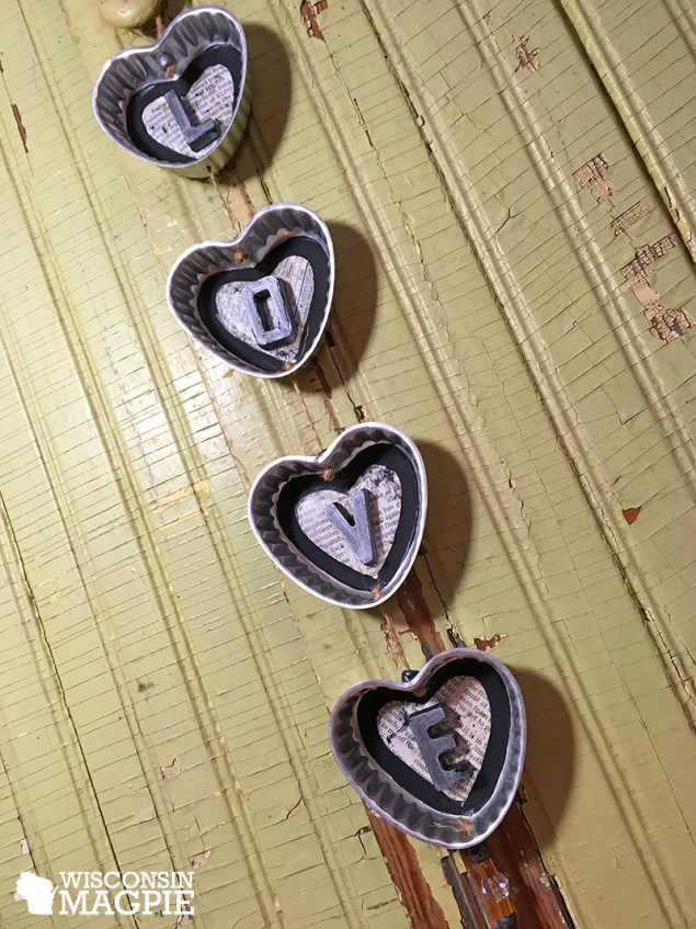 Valentine's Day craft project