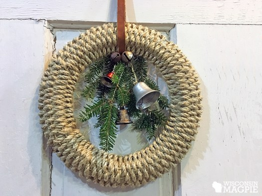 sisal Christmas wreath