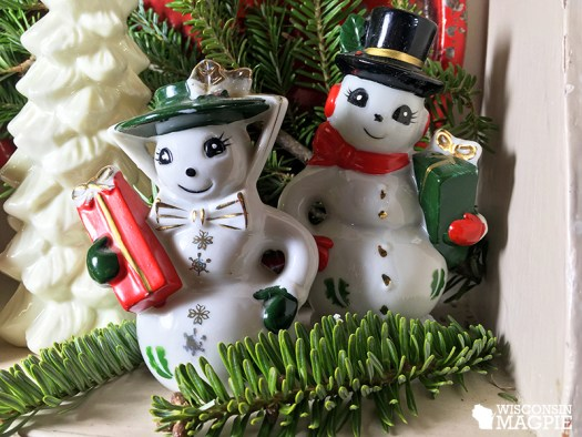 vintage snowman collection
