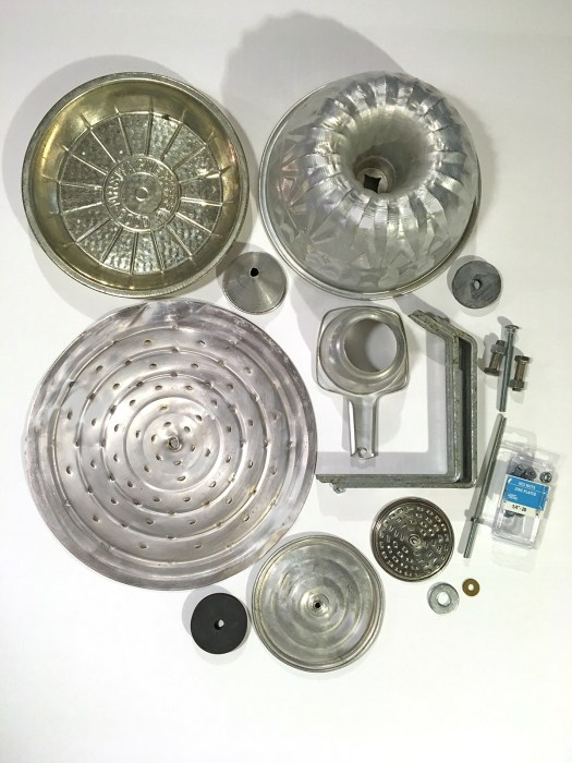 aluminum kitchenware for junk turkey