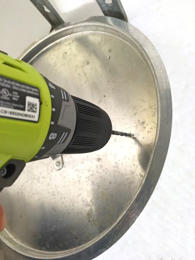 drilling hole in turkey robot pan