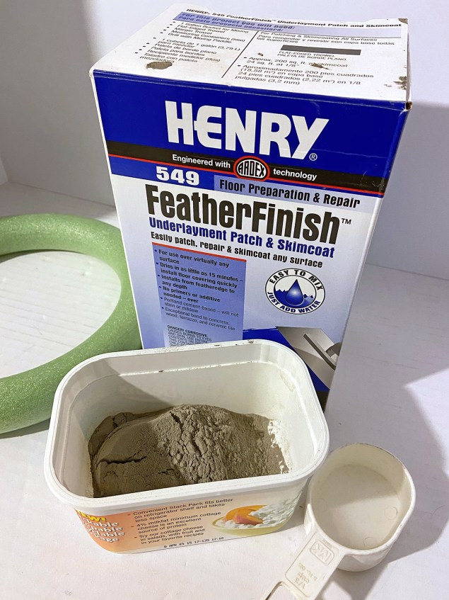 henry featherfinish underlayment patch and skimcoat