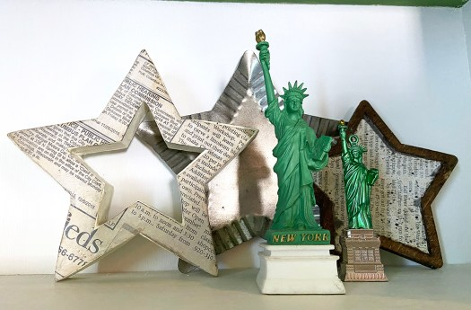 Miniature Statues of Liberty