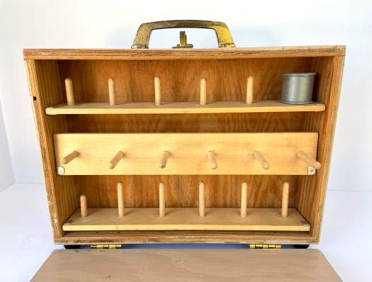 homemade plywood thread case