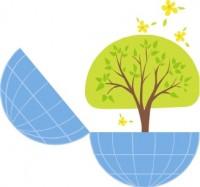 Tree in Globe