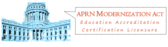 APRN Modernization Act Logo