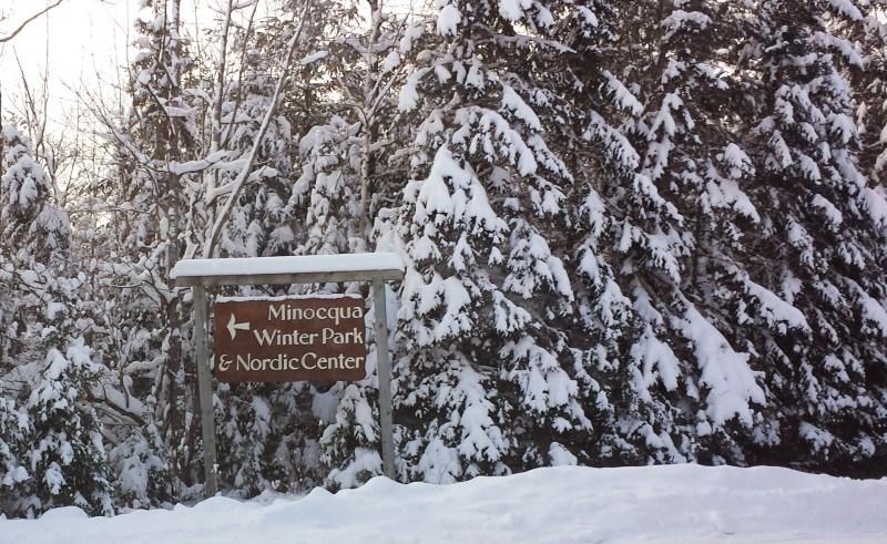 Minocqua Winter Park January 2015