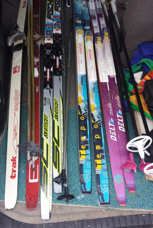All of the Skis!