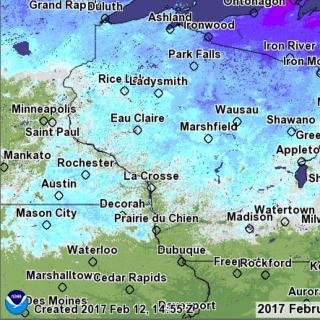 Wisconsin Snow Depth