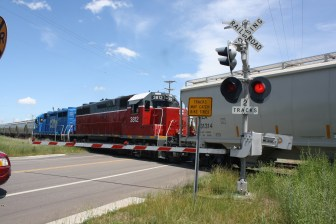 The frequency of rail cars blocking roads and noise from the increase in train traffic has led to public complaints. But the local operator Progressive Rail has added jobs and invested hundreds of thousands of dollars into rail line improvements to accommodate the sand industry in the Chippewa County area.
