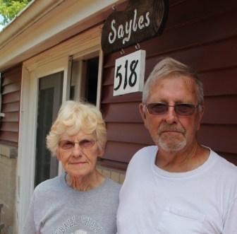 New Auburn residents Frances and Dean Sayles.