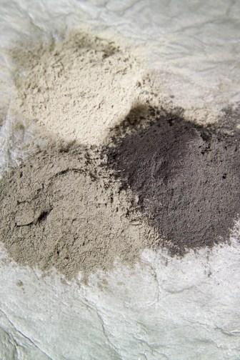 Fly ash samples.