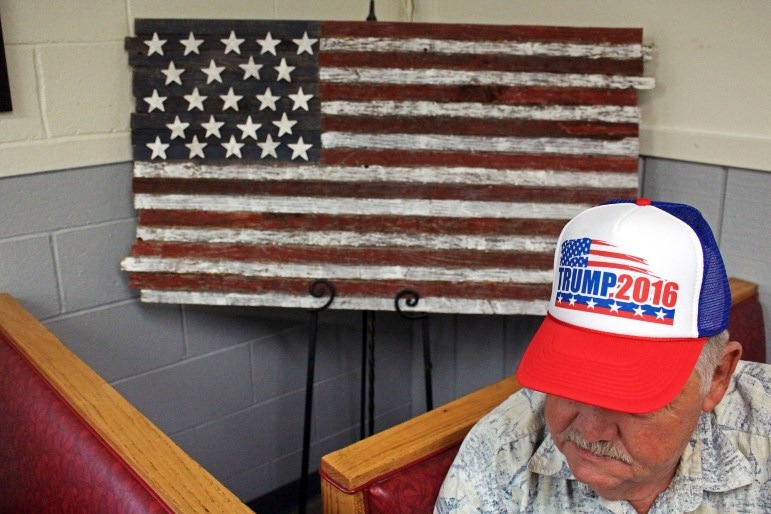 Roy Rogergray, 71, has lived in Celina, Tenn., all his life and is voting for Donald Trump in November. He said he doesn't care for Trump's personality, but he agrees with most of his policies.