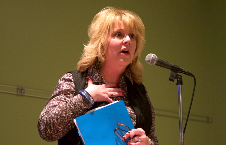 """Department of Natural Resources Secretary Cathy Stepp, seen here in a 2015 file photo, said the spike in lead poisoning among children in Flint, Michigan, convinced her Wisconsin must take strong action to reduce the risk of lead in drinking water. """"If it costs a lot of money to do that, then it costs a lot of money to do that,"""" Stepp said during a symposium Sept. 7, in Milwaukee."""