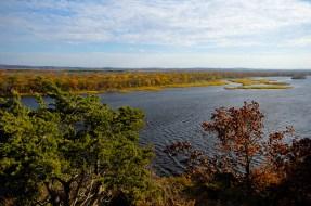 Overlooking the Mighty Wisconsin