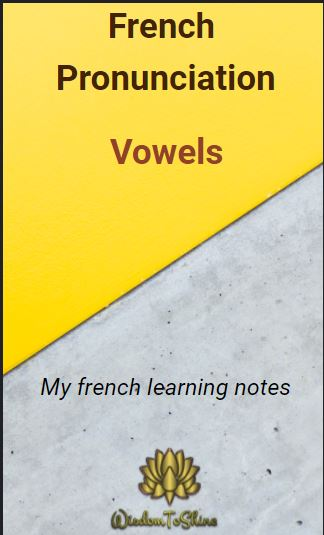 French Vowels Pronunctiation