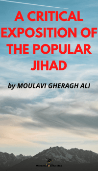A CRITICAL EXPOSITION OF THE POPULAR JIHAD
