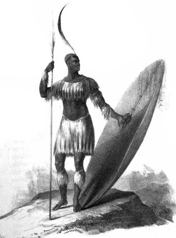 digital history of colonial Africa | Shaka Zulu