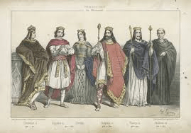 digital history of the Middle Ages | Merovingian Dynasty