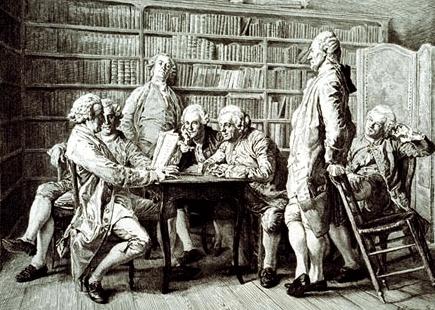 digital history of the Enlightenment  | literature
