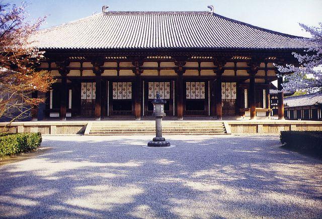 Nara Period: architecture