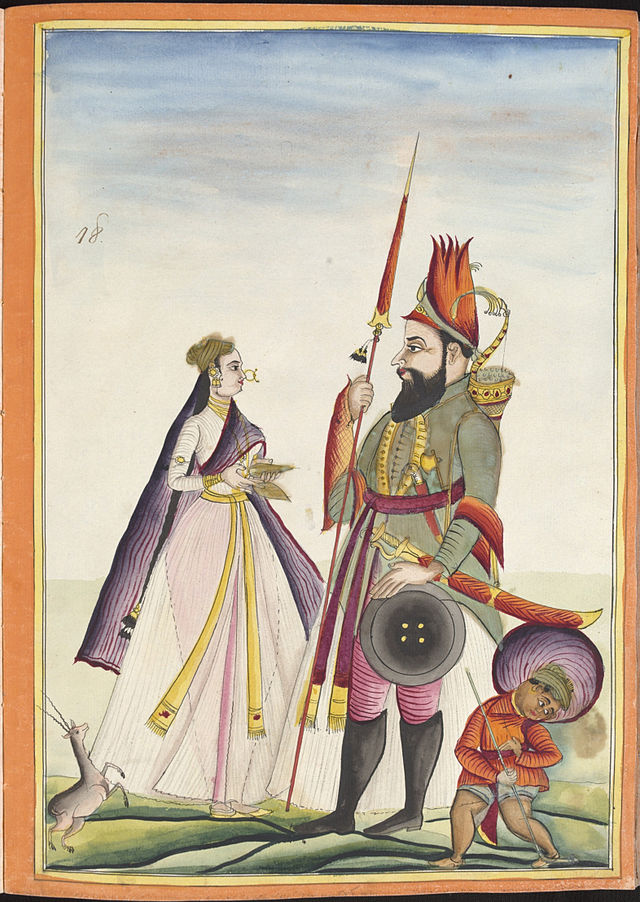 digital history of ancient India | civil war in the Mughal Empire