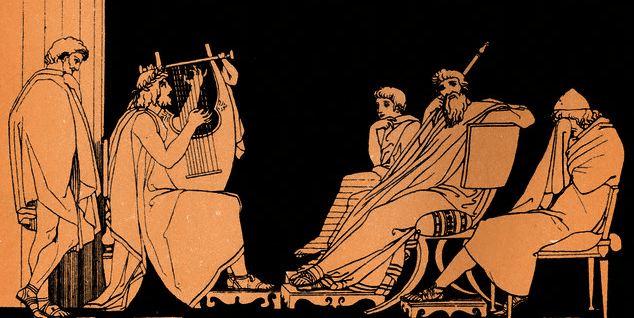 digital history of ancient Greece | music