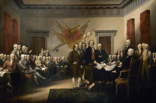 digital history of the American Revolution | Declaration of Independence