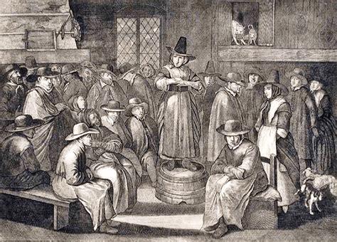 New England 1650-1750   religion