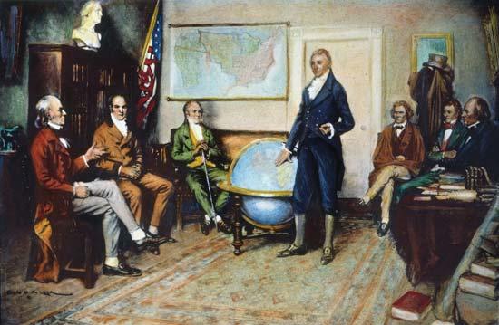 digital history of America 1782-1800 | John Adams | foreign affairs