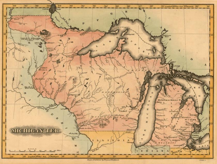 digital history of America 1815-1830 | Old Northwest
