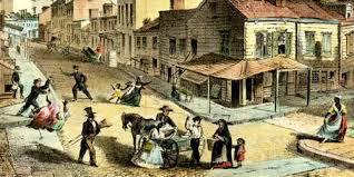 digital history of America 1850-1860 | cities