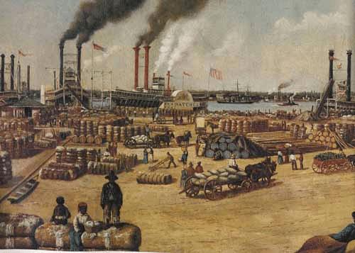 digital history of America 1830-1860 | economy