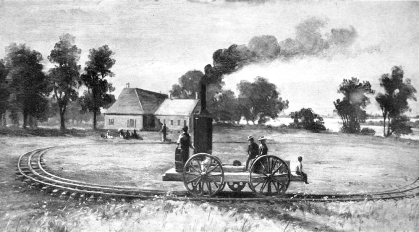 digital history of America 1830-1860 | economy | infrastructure