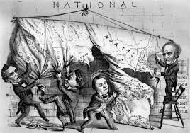 digital history of America 1850-1860 | power