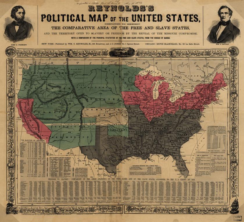 digital history of America 1850-1860 | Kansas