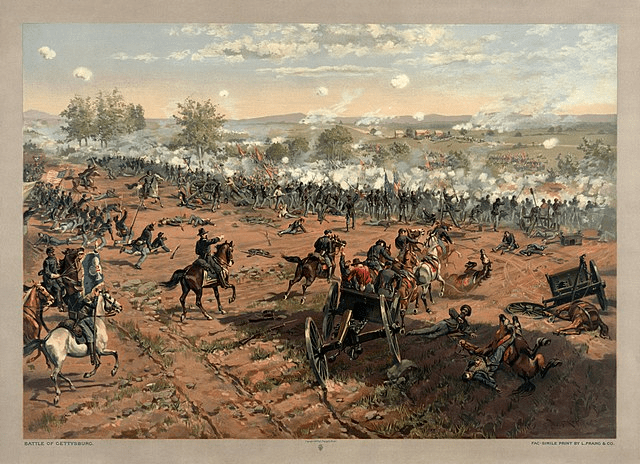 digital history of the Civil War | campaigns and battles